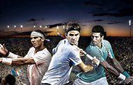 Federer, Nadal och Djokovic - de tre giganterna